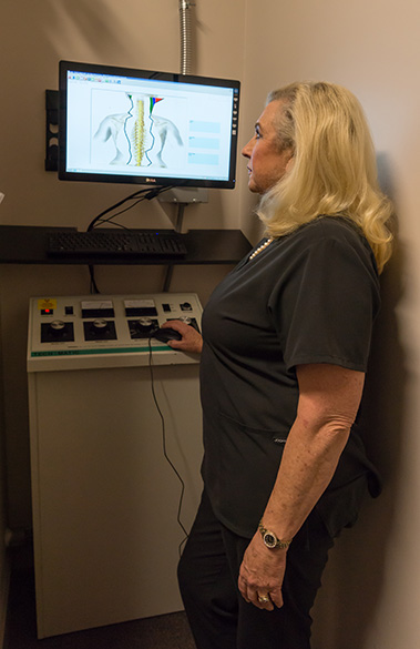 Chiropractic Muscle Scan