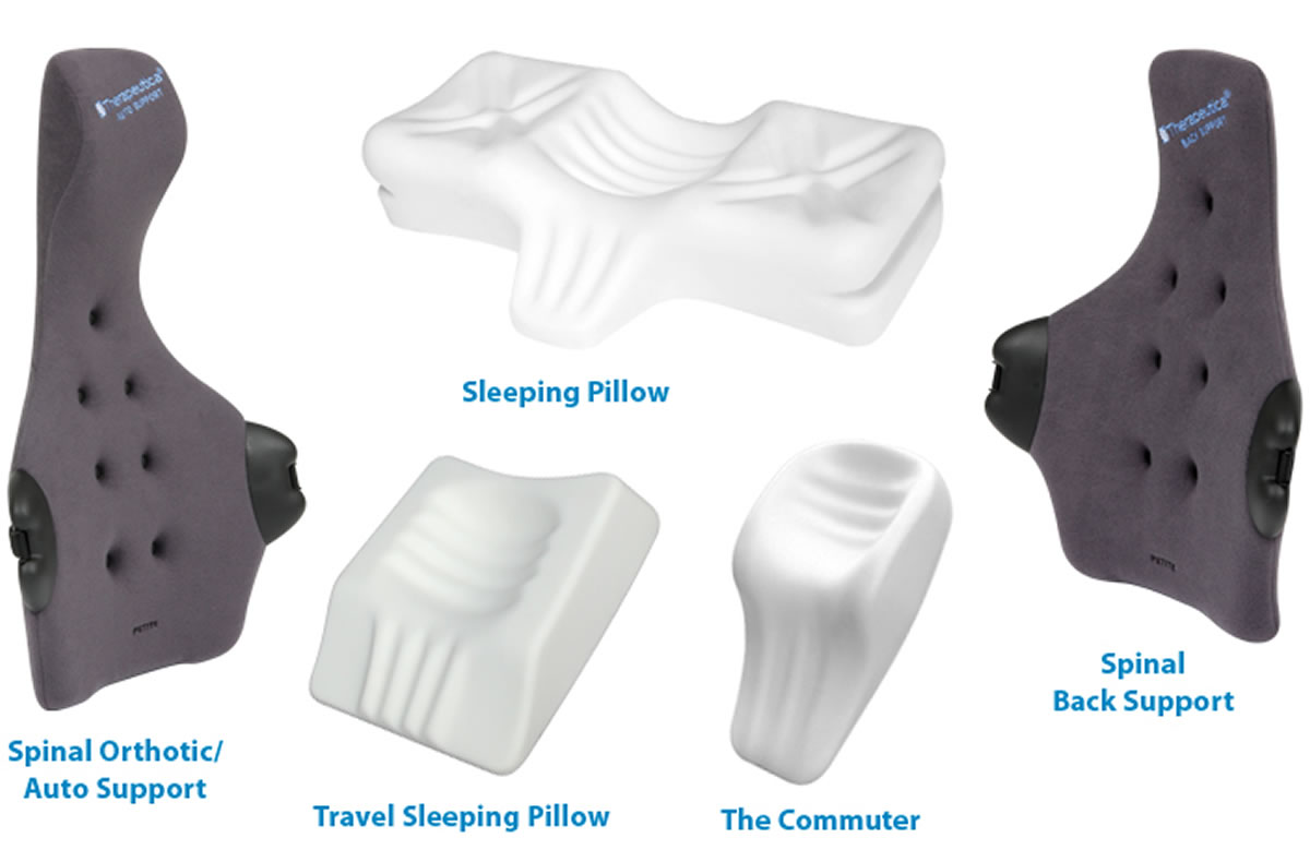 Therapeutica Sleeping Pillows - Elite Chiropractic Wellness Centers